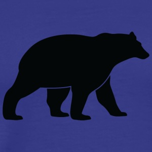 A Great Dark Bear - Men's Premium T-Shirt