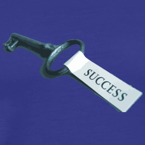 Key of success - Men's Premium T-Shirt