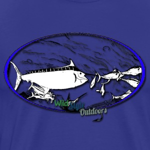 Dining With Marlin - Men's Premium T-Shirt