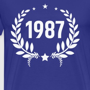 Born in 1987 - Men's Premium T-Shirt