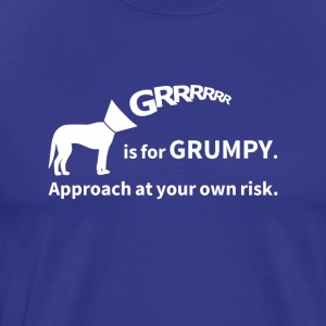 Grrrrrr is for Grumpy - Men's Premium T-Shirt