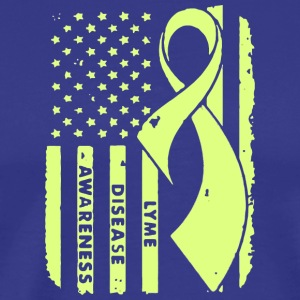 Lyme Disease Awareness - Men's Premium T-Shirt
