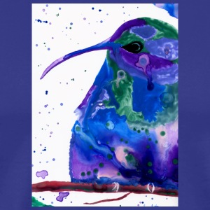 hummingbird watercolor - Men's Premium T-Shirt