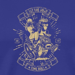 Let The Good Time Roll - Men's Premium T-Shirt