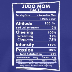 Judo Mom Facts Daily Values May Be Vary - Men's Premium T-Shirt