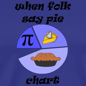 pie chart i think - Men's Premium T-Shirt
