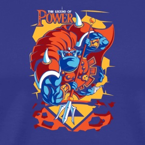 Power Of Attack - Men's Premium T-Shirt