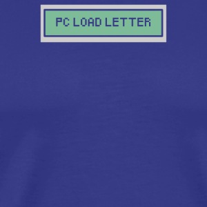 PC Load Letter - Men's Premium T-Shirt