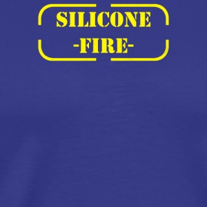 Silicone Fire - Men's Premium T-Shirt