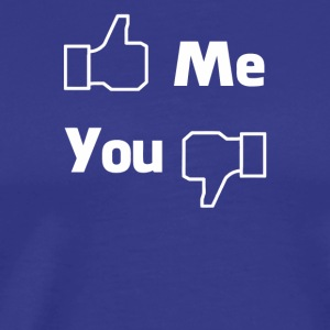 Me You Facebook - Men's Premium T-Shirt