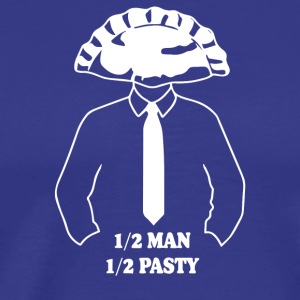 Half Man Half Pasty - Men's Premium T-Shirt