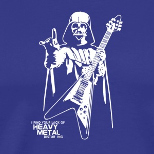 Darth Vader Heavy Metal - Men's Premium T-Shirt