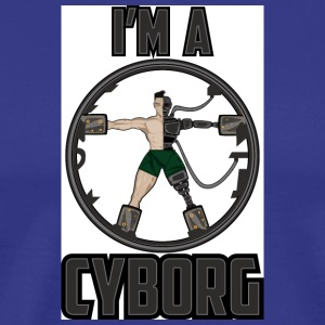 cyborg - Men's Premium T-Shirt