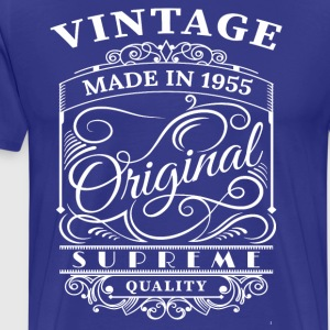 Vintage Made in 1955 Original - Men's Premium T-Shirt