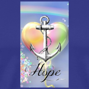 hear anchor hope - Men's Premium T-Shirt