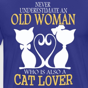CAT LOVER T-Shirt - Men's Premium T-Shirt