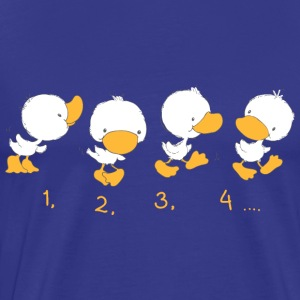 4 Ducklings with numbers