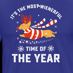 Dachshund wienerful time of the year christmas T-s