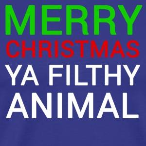 Funny Movie Merry Christmas Filthy Animal