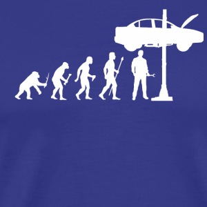 Evolution Of Man and Mechanic Funny Shirt
