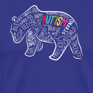 Autism Papa Bear Autism Awareness