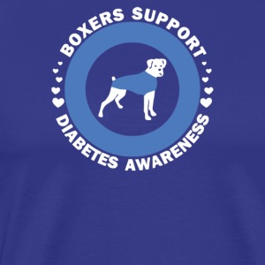 Boxers Support Diabetes Awareness