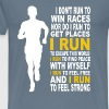 Run-I run to feel free and to feel strong - Men's Premium T-Shirt