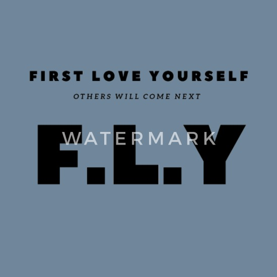 First Love Yourself Men S Premium T Shirt Spreadshirt