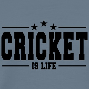 Cricket is life 1 - Men's Premium T-Shirt