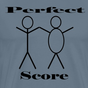 man and man perfect score - Men's Premium T-Shirt