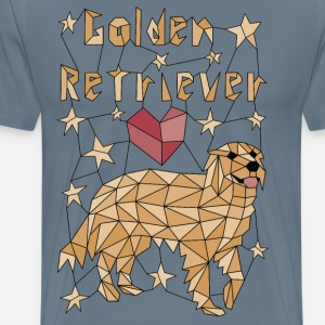 Geometric Golden Retriever