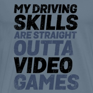 Gamer Driving Skills Straight Outta Video Games