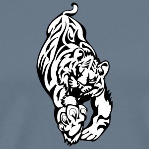 running_big_tiger - Men's Premium T-Shirt