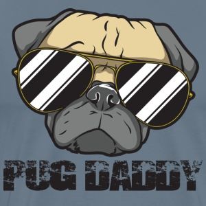 Pug Daddy - Men's Premium T-Shirt