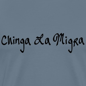 chinga la migra by wage slave spreadshirt