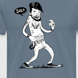 Solo Air Guitar - Men's Premium T-Shirt