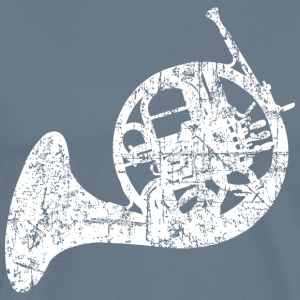 French Horn Distressed White