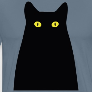 The mysterious cat - Men's Premium T-Shirt