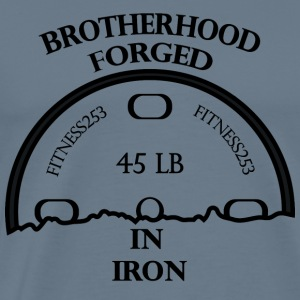 Brotherhood Forged In Iron - Men's Premium T-Shirt