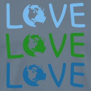 LOVE Earth Day And Save Your Planet - Men's Premium T-Shirt