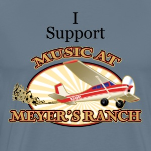 I Support - Music at Meyer's Ranch - Men's Premium T-Shirt