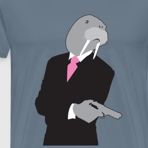 I need a walrus gangsta' - Men's Premium T-Shirt