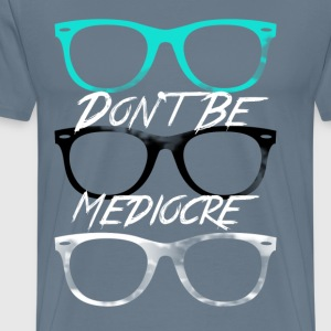 Mediocre Glasses - Men's Premium T-Shirt