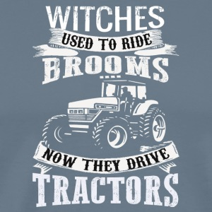 witches_used_tractors - Men's Premium T-Shirt