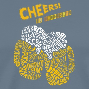 Cheers to Diversity - Men's Premium T-Shirt