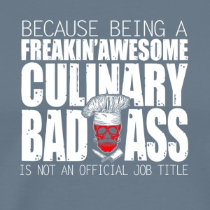 Culinary Badass Chef - Men's Premium T-Shirt
