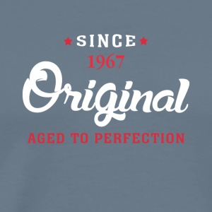 Since 1967 Original Aged To Perfection - Men's Premium T-Shirt