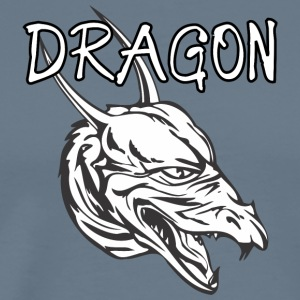 dragon_with_long_horn - Men's Premium T-Shirt
