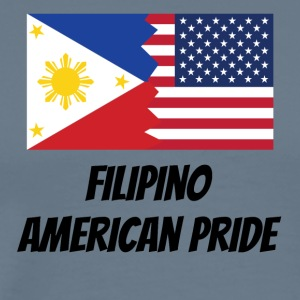 Filipino American Pride - Men's Premium T-Shirt
