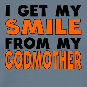I Get My Smile From My Godmother - Men's Premium T-Shirt